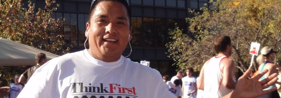 WE'RE POUNDING THE PAVEMENT FOR INJURY PREVENTION! JOIN 'TEAM THINKFIRST!'
